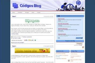 Template Códigos Blog 3.0 (download)