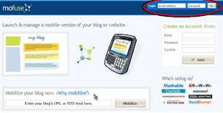 Configurando blog em versão para celular – 1