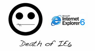 Atualize seu navegador, morte ao IE6!