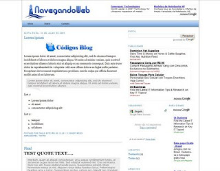 Template Navegando Web – Leve e totalmente editável