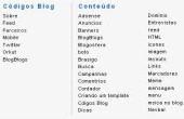 Pequenas alterações no Códigos Blog