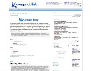 Template Navegando Web – V2.0