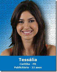 Tessália e o jogo de marketing?