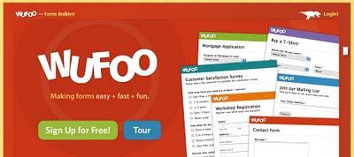 Wufoo – Formulários grátis para o Blogger