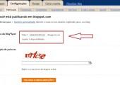 Como mudar o domínio do blog