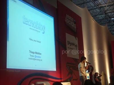 Como profissionalizar o seu blog, por Thiago Mobilon do Tecnoblog na Campus Party 2011