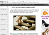 Novidade! Blogger com templates dinâmicos em Ajax, HTML5 e CSS3