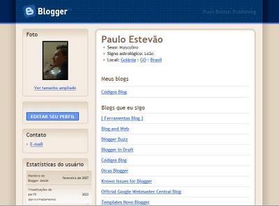 Colocar perfil do Google Plus como perfil padrão no Blogger
