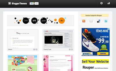 Blogger Themes – Excelentes templates gratuitos para Blogger