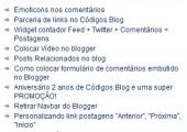 Exibir postagens mais comentadas no Blogger
