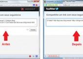 Botão de twittar postagem, personalizado com título e link encurtado para Blogger e WordPress