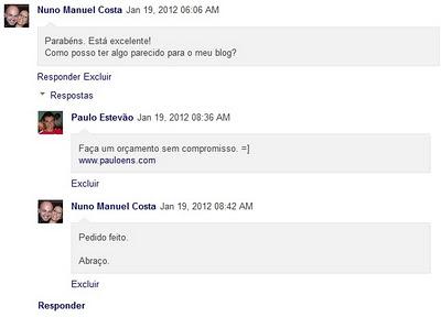 Como instalar o Threaded Comments, sistema de resposta em comentários no Blogger