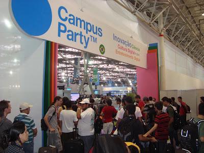 Campus Party Brasil a todo vapor em 2012