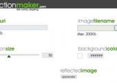 Gerador online para criar imagens com reflexo