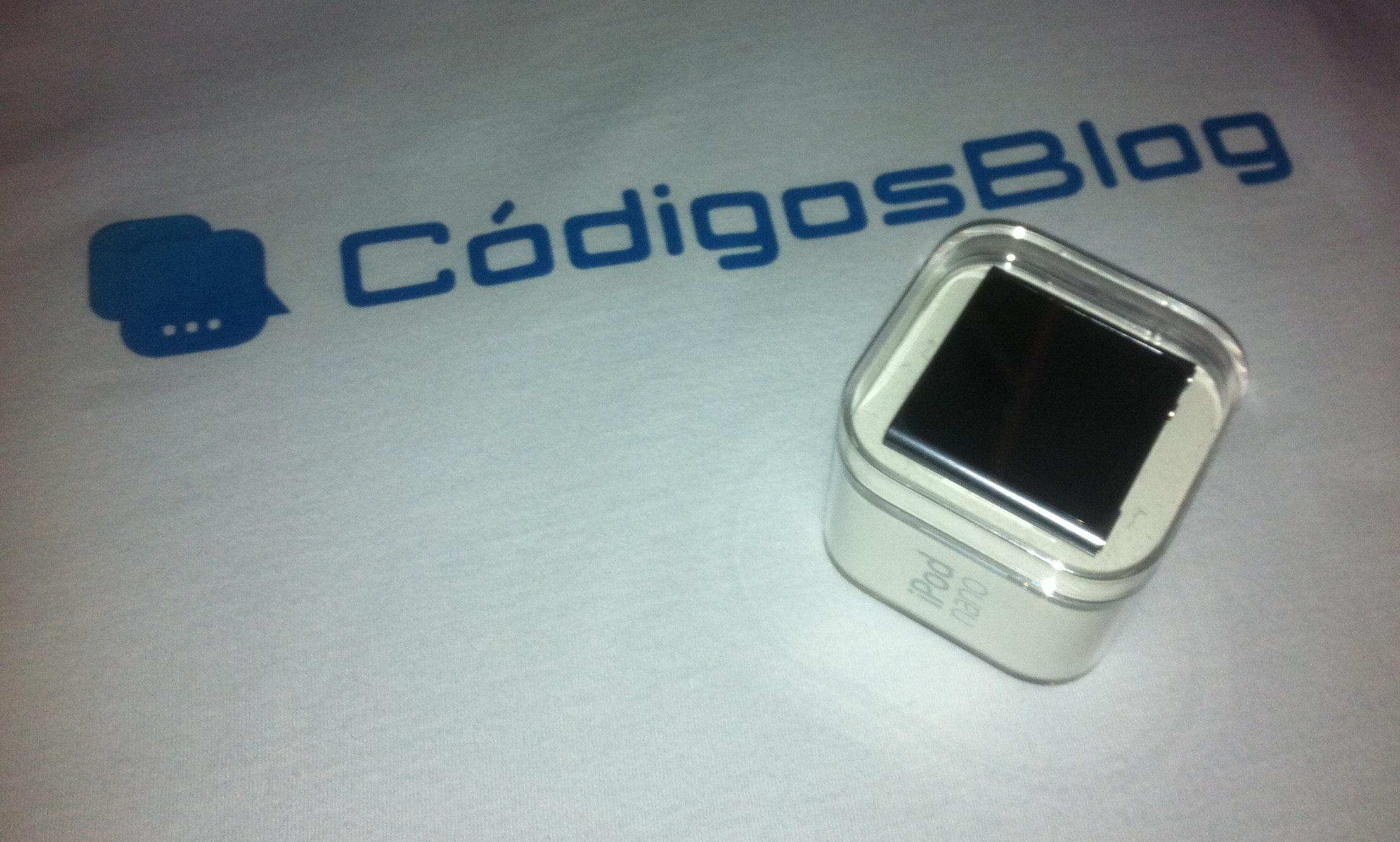 iPod promoção Códigos Blog