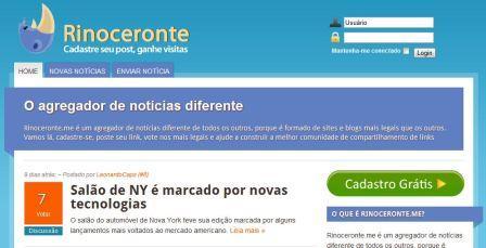Dica SEO: Consiga links para seu blog com o Rinoceronte.me