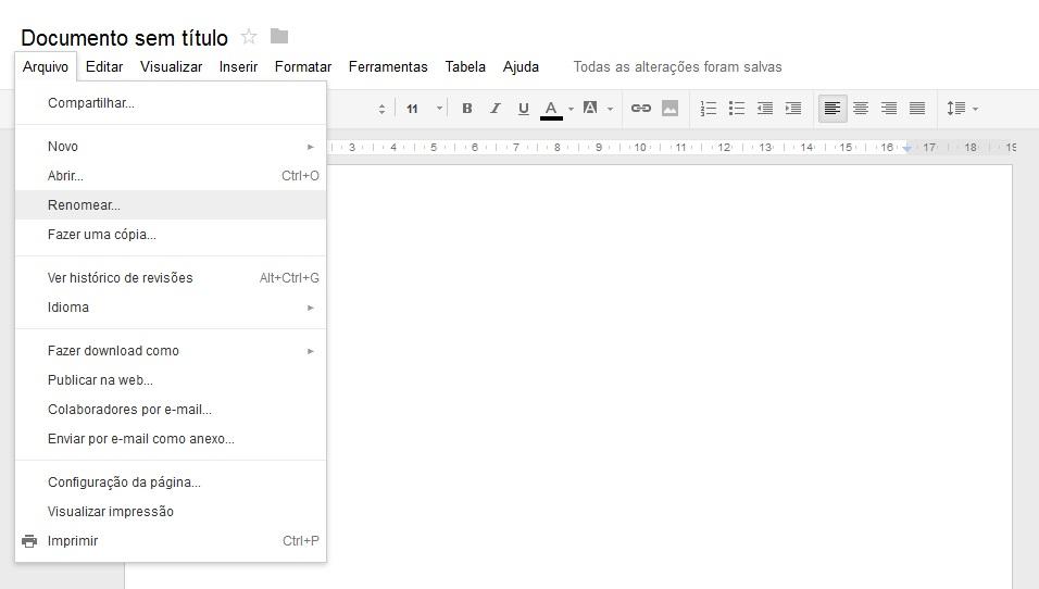 Renomear arquivo Google Drive