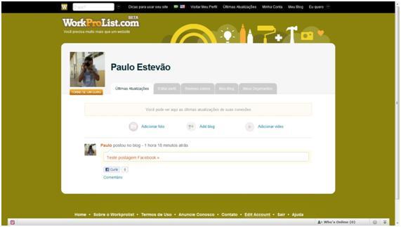 Crie um blog dentro do Facebook
