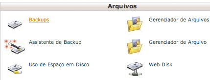 Como fazer o backup do blog WordPress