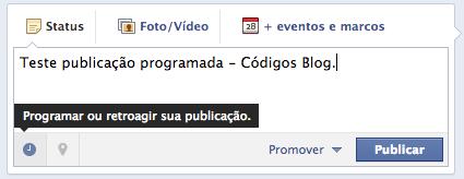 Como agendar publicações em páginas no Facebook