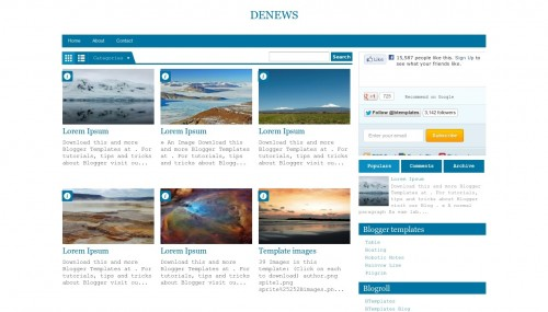 denews-blogger-template