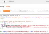 Novo Editor HTML de Modelo do Blogger