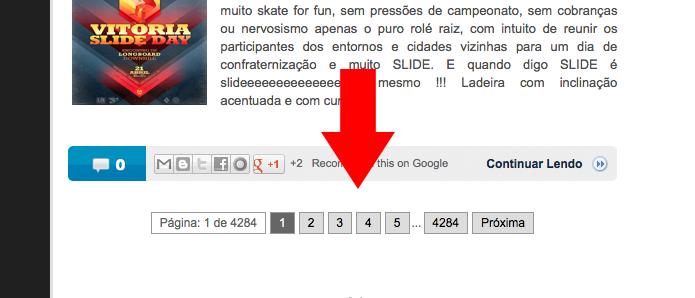Como colocar numeração de páginas no Blogger