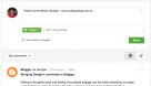 NOVIDADE: Como usar o formulário de comentários do Google+ no Blogger