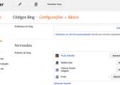 Como adicionar autores e administradores no Blogger